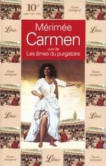 Couverture de Carmen - suivi de : les ames du purgatoire