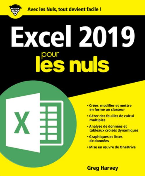Excel pour les nuls (édition 2019)