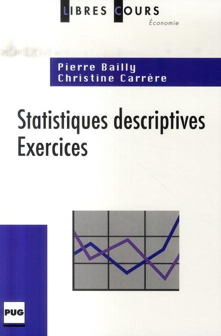 Statistiques Descriptives ; Exercices