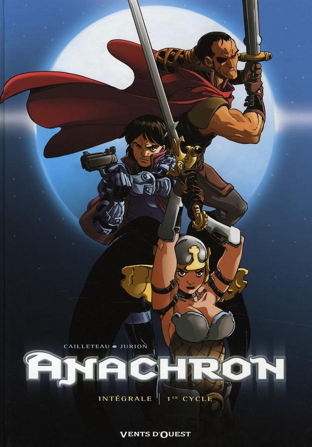 Anachron ; intégrale t.1 à t.4