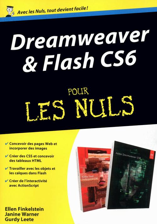 Dreamweaver et Flash CS6 pour les nuls