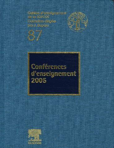 Conférences d'enseignement (édition 2005)