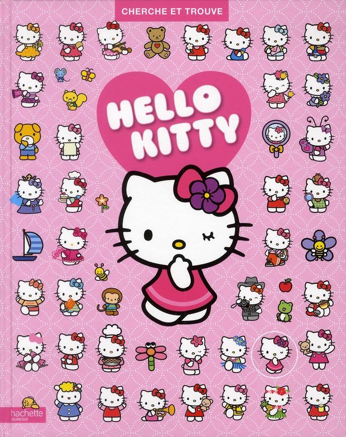 Hello Kitty ; Cherche Et Trouve