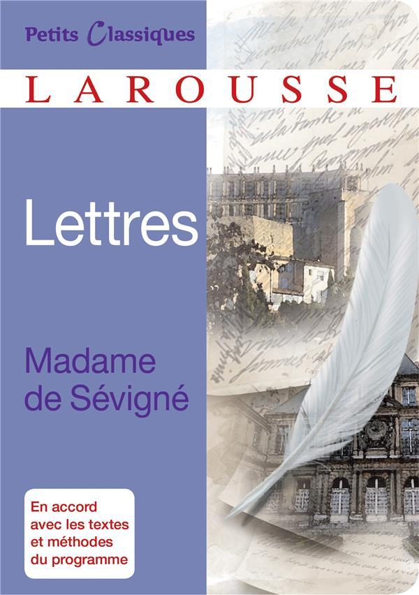 Les lettres de Madame de Sévigné