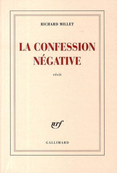 La confession négative