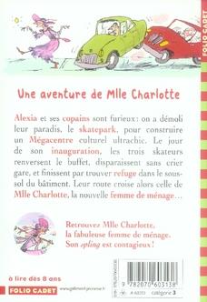 Mlle Charlotte T.5 ; une fabuleuse femme de ménage