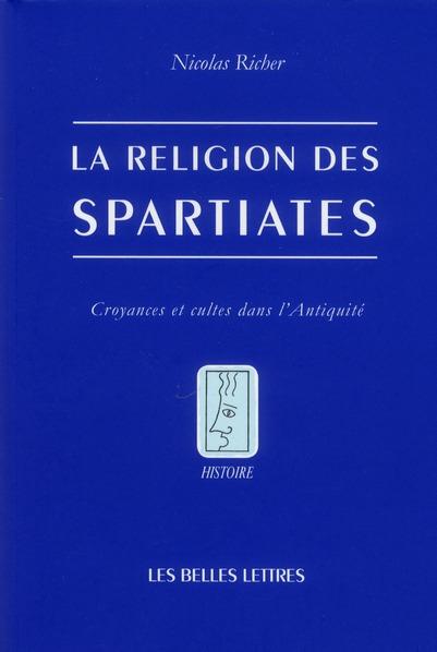 La religion des spartiates