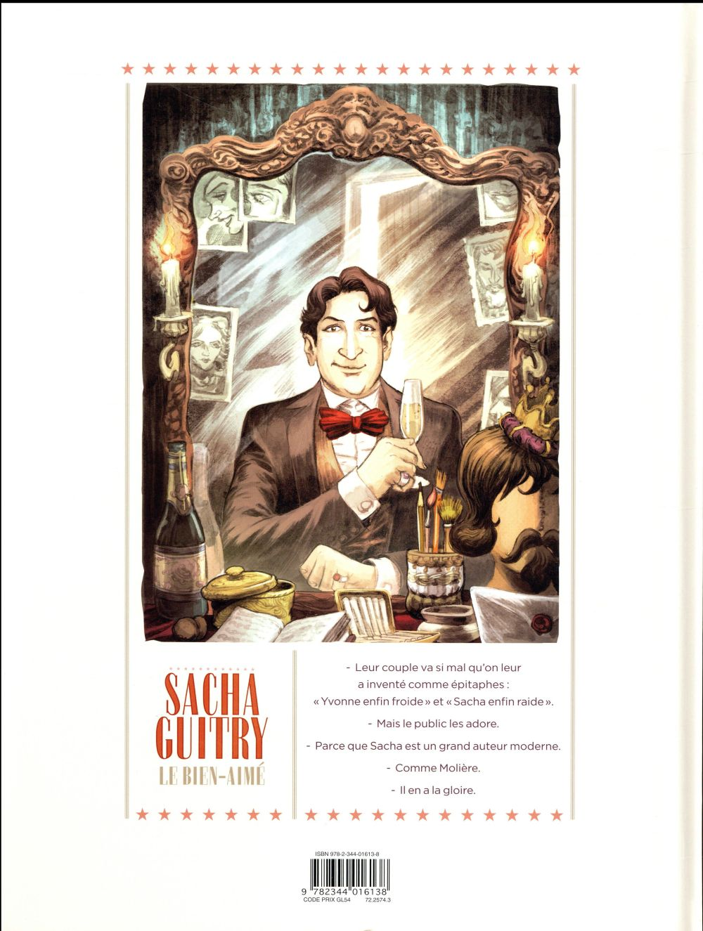 Sacha Guitry T.1 ; le bien-aimé