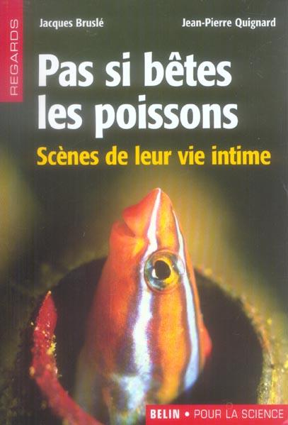 Pas si betes les poissons ; scenes de leur vie intime