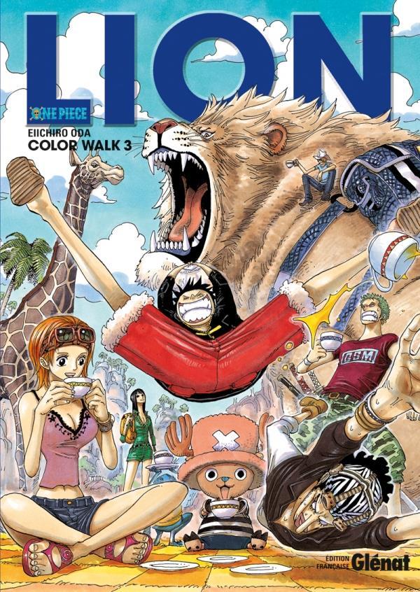 One Piece - color walk T.3 ; lion