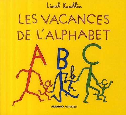 Les vacances de l'alphabet
