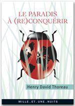 Vente EBooks : Le paradis à (re)conquérir  - Henry David THOREAU