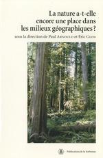 Vente EBooks : La nature a-t-elle encore une place dans les milieux géographiques?  - Paul Arnould - Éric Glon