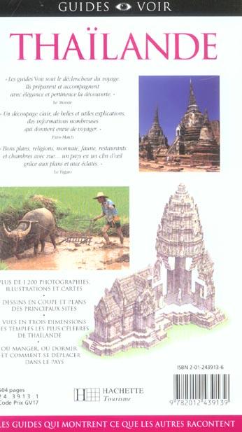 Guides voir ; thailande