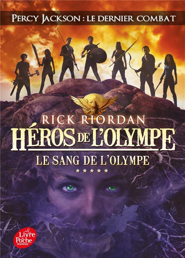 Héros de l'Olympe T.5 ; le sang de l'Olympe