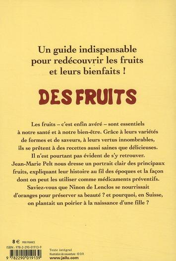 des fruits ; petite encyclopédie gourmande