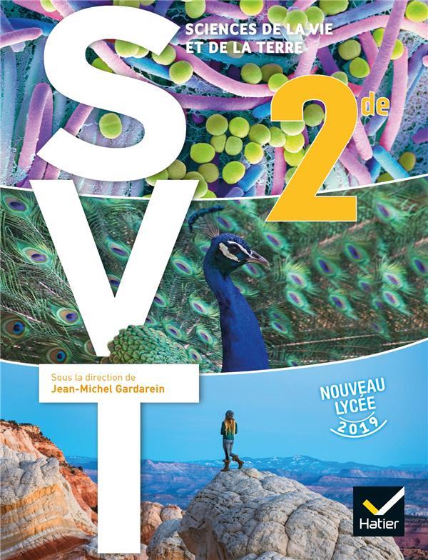 SVT ; 2de ; livre de l'élève (édition 2019)