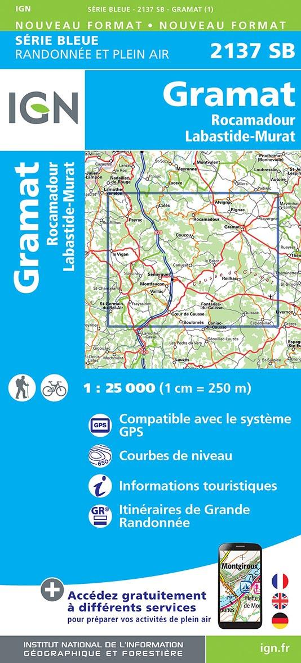 2137SB ; Gramat, Rocamadour, Labastide-Murat