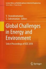 Global Challenges in Energy and Environment  - V Sivasubramanian - S. Subramanian