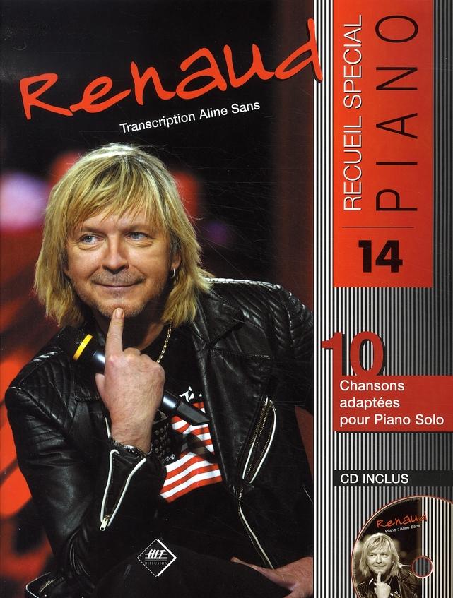 Recueil spécial piano n.14 ; renaud