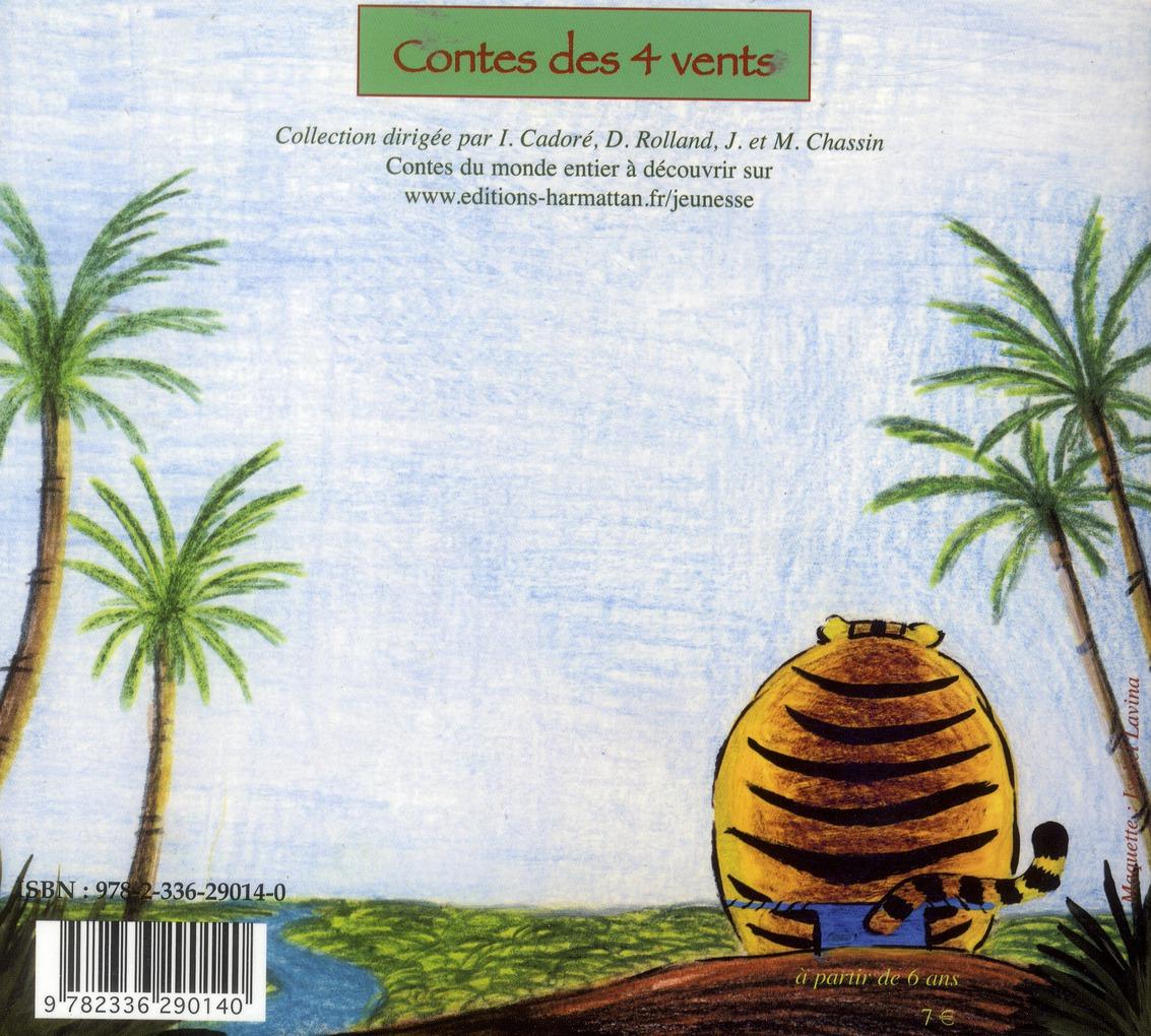 L'araignée, le roi et le tigre ; anainsi kownu anga bubu ; conte de Guyane ndyuka francais
