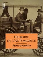 Vente EBooks : Histoire de l'automobile  - Pierre Souvestre