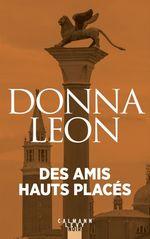 Vente Livre Numérique : Des amis haut placés  - Donna Leon