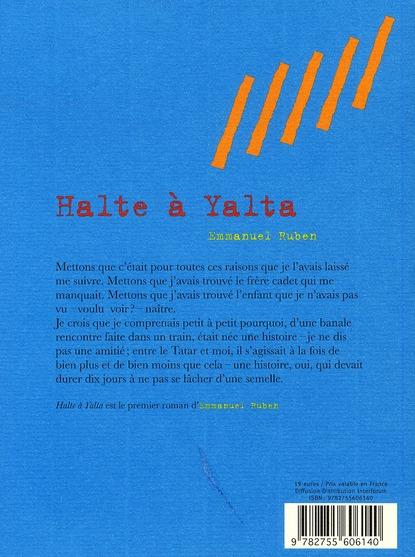 Halte à Yalta