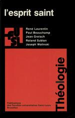 Vente EBooks : L´esprit saint  - Jean Greisch - René Laurentin - Paul Beauchamp - Roland Sublon - Joseph WOLINSKI