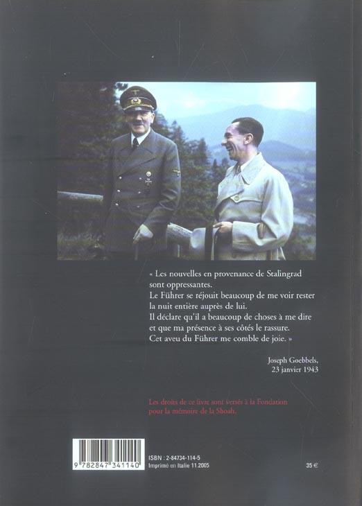 Joseph Goebbels ; journal, 1943-1945