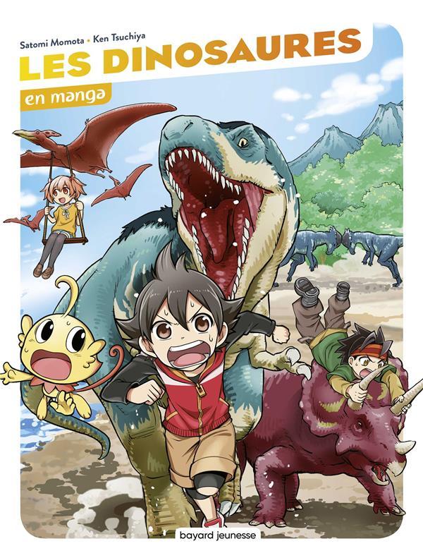 Les dinosaures en manga