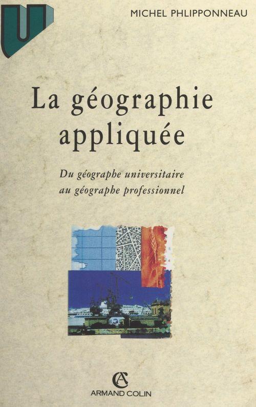 La géographie appliquée