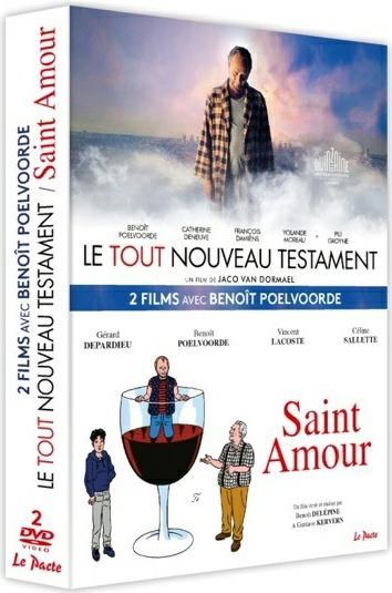 2 films avec Benoît Poelvoorde : Le tout nouveau Testament + Saint Amour