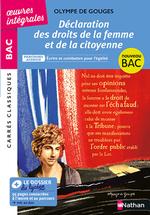 Vente Livre Numérique : Déclaration des droits de la femme et de la citoyenne de Olympe de Gouges - Français 1re 2022 - Parcours Écrire et combattre pou  - Olympe de Gouges