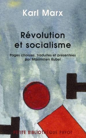REVOLUTION ET SOCIALISME  -  PAGES CHOISIES T.2