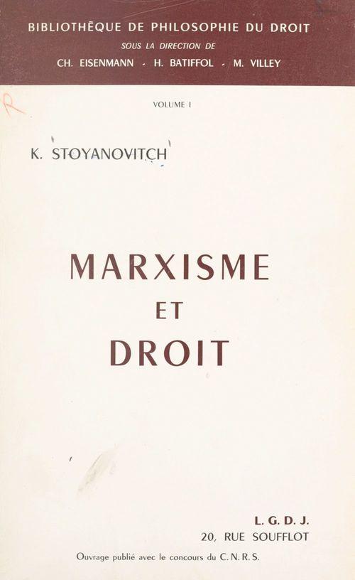 Marxisme et droit