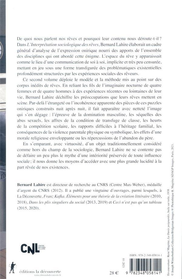 L'interprétation sociologique des rêves t.2 ; la part rêvée