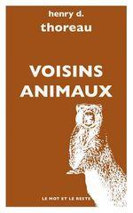 Vente EBooks : Voisins animaux  - Henry David THOREAU - Michel GRANGER