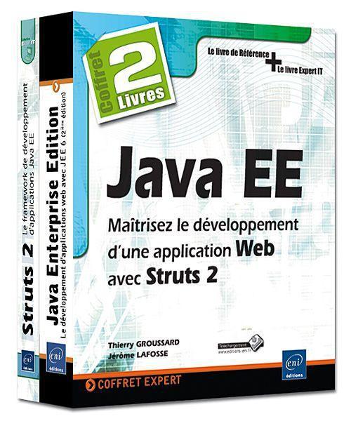 Coffret java EE ; maîtrisez le développement d'une application web avec struts 2