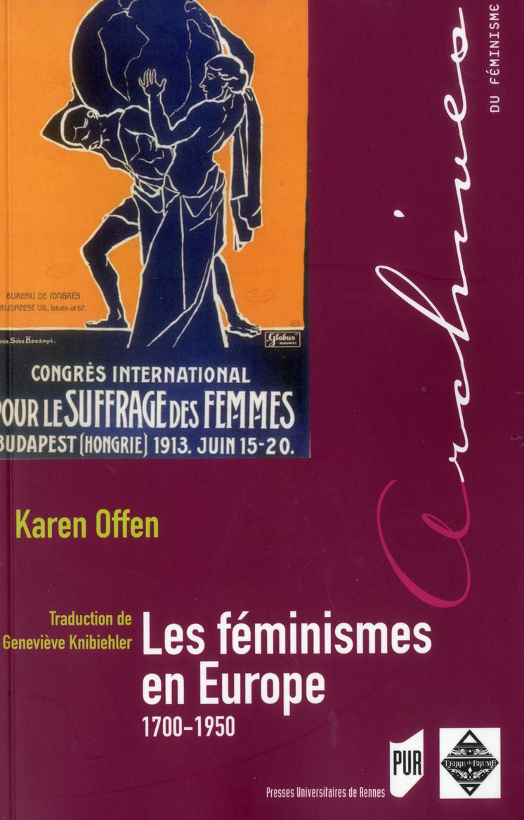 Les féminismes en Europe ; 1700-1950