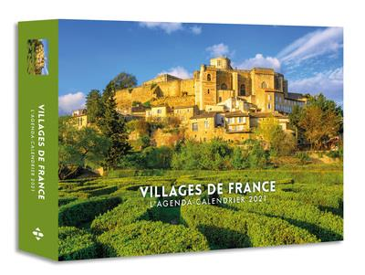 Agenda calendrier ; villages de France (édition 2021)   Collectif