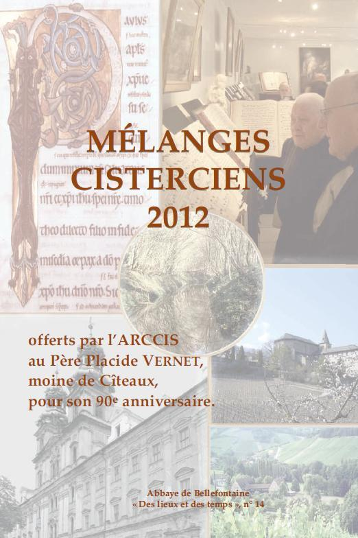 melanges cisterciens 2012