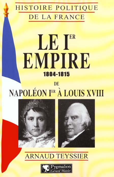 Le premier empire - 1804-1815