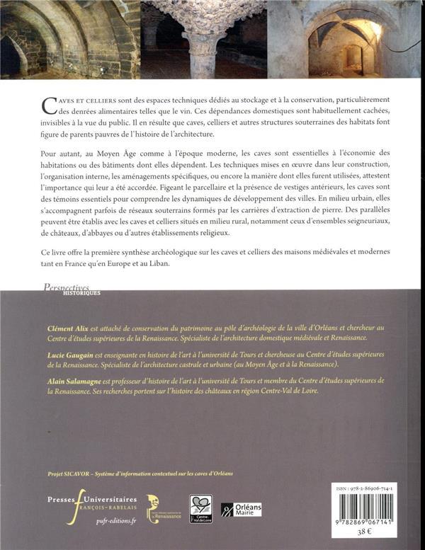 caves et celliers dans l'Europe médiévale et moderne