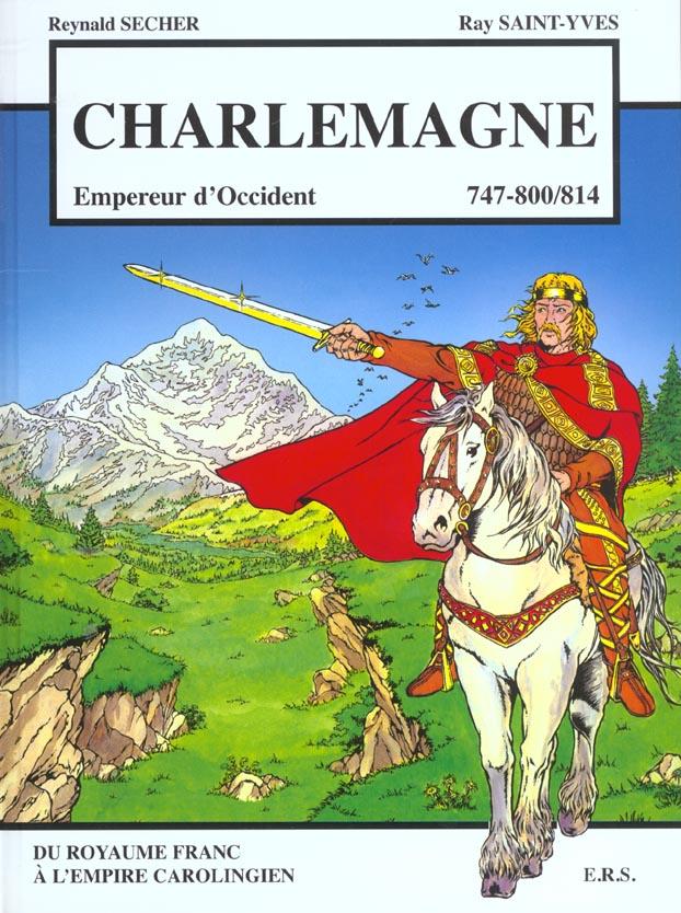 Charlemagne ; empereur d'occident