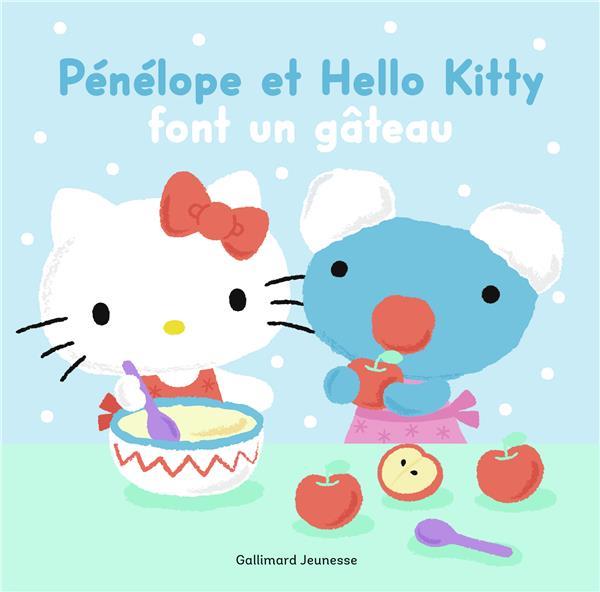 Penelope Et Hello Kitty Font Un Gateau