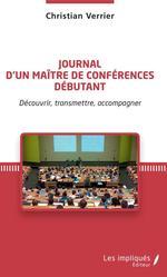 Vente Livre Numérique : Journal d'un maître de conférences débutant  - Christian Verrier