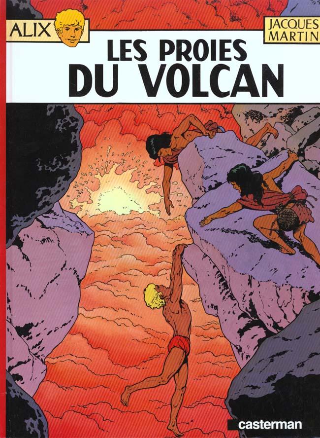 Alix T.14 ; les proies du volcan