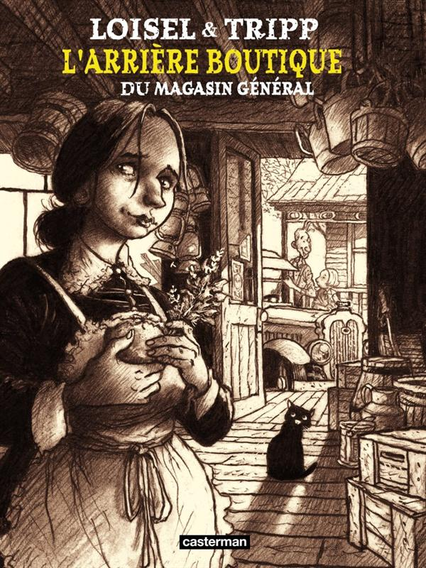 Magasin général HORS-SERIE T.1 ; l'arrière-boutique du magasin général