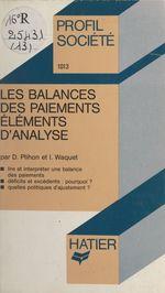Vente EBooks : Les balances des paiements  - Dominique Plihon - Isabelle Waquet
